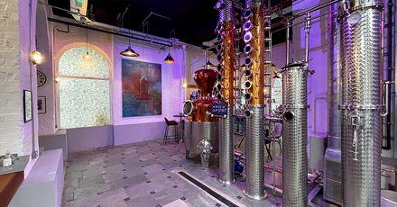 Maidstone Distillery still