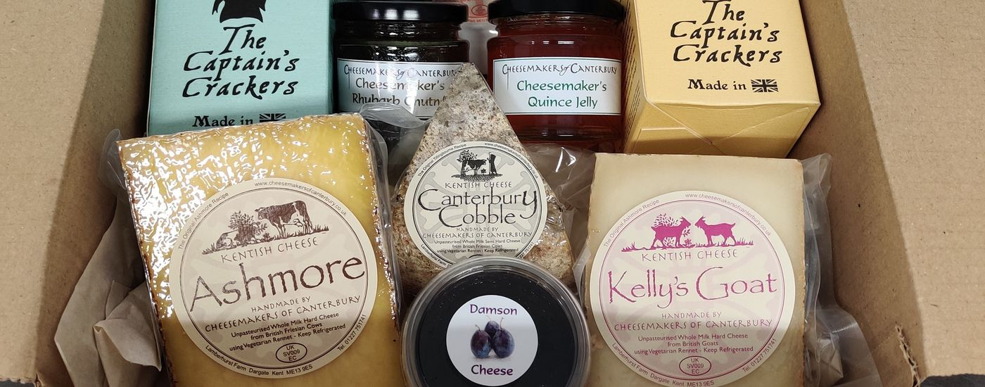 Cheesemakers of Canterbury Large Hamper