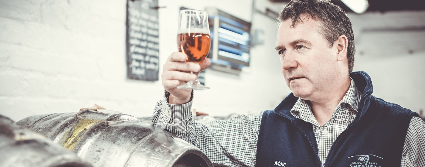 Shepherd Neame Head Brewer Mike Unsworth