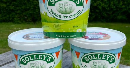 Solleys Vegan Ice Cream