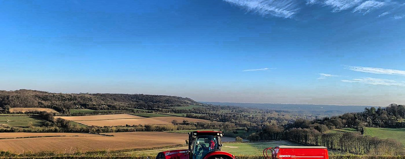Drilling above the Darent Valley Kent
