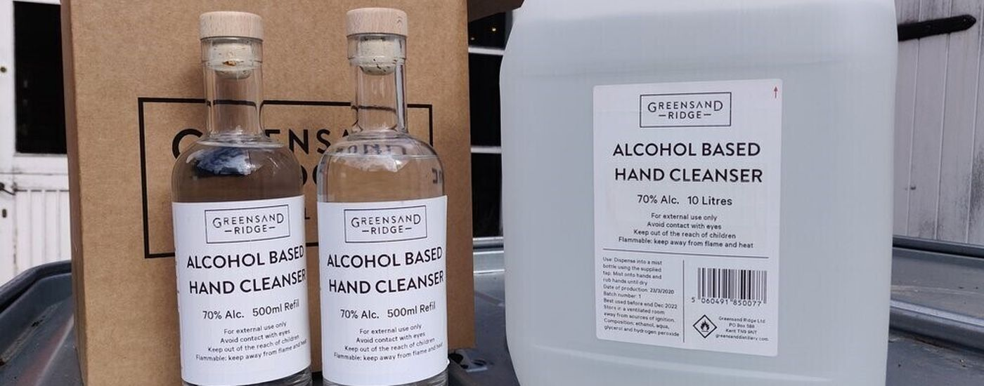 Greensand Ridge Hand Sanitiser