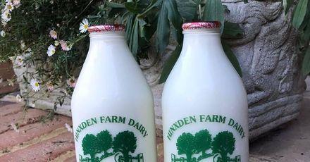 Hinxden Dairy Glass Bottles