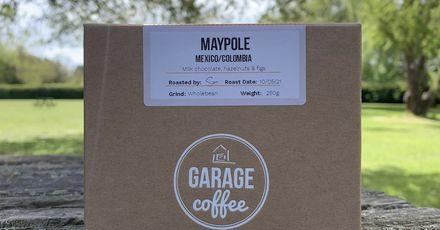 Garage coffee maypole picnic