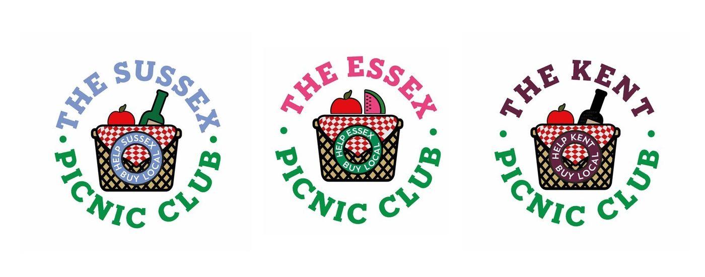 Trio of logos