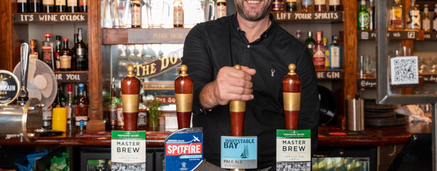 Shepherd Neame General Manager Fraser Pearson