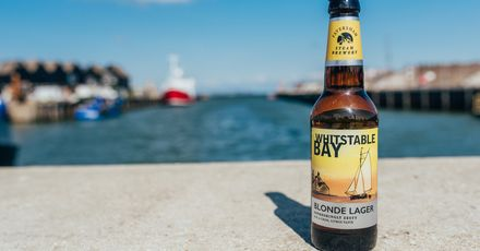 Whitstable Bay Blonde Lager 1