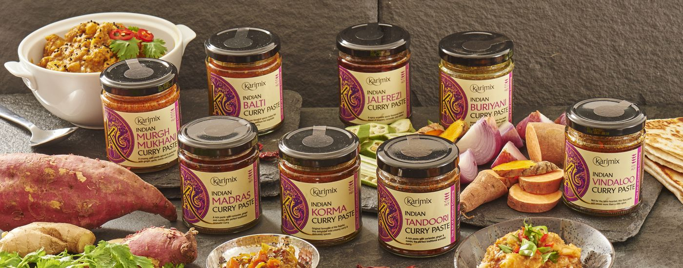 Indian Curry paste group 1