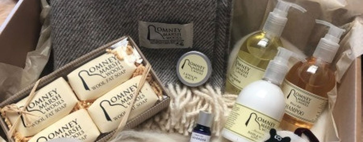 Romney Marsh Wools gift box
