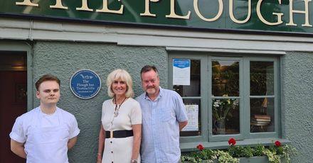 The Plough Trottiscliffe Blue Plaque